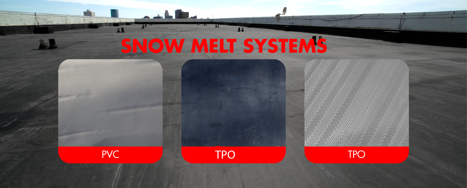 commercialflatroofpng - Flat Roof Systems